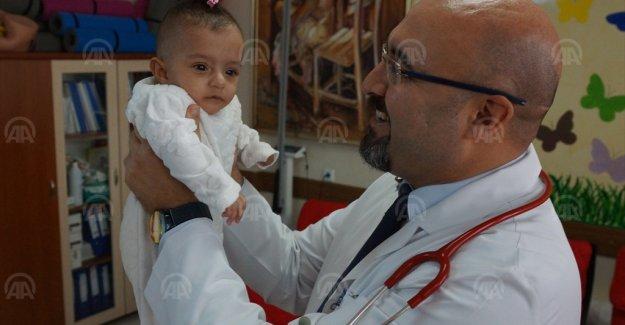 980 gram doğan Arya bebek, hayata tutunmayı başardı