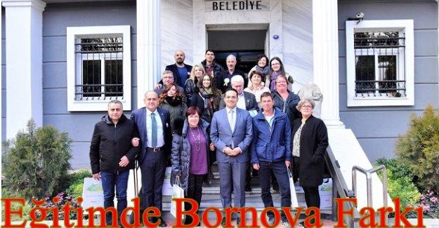 AB Projesi Motivasyon Akademisi proje ortaklarından Başkan Atila'ya ziyaret