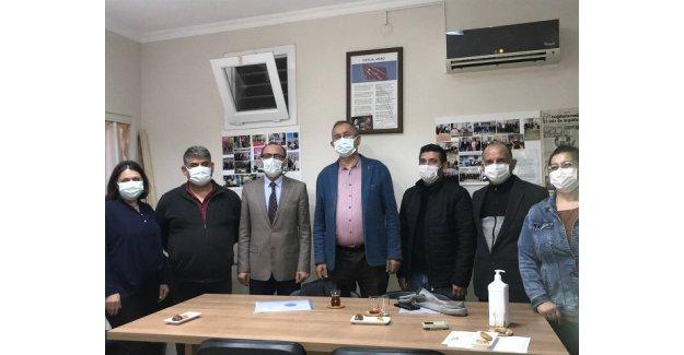 Atila Sertel'den EYT Derneği'ne ziyaret