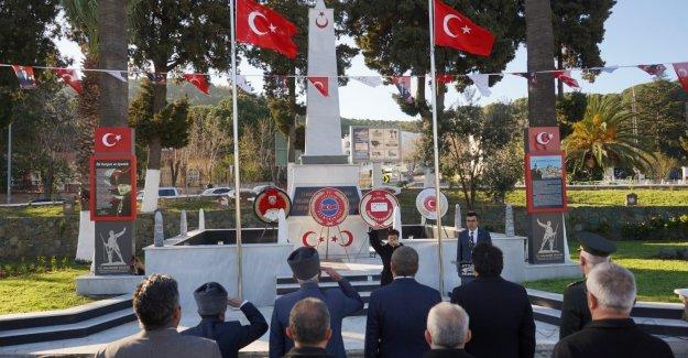 Ayvalık 'ta 18 Mart Çanakkale Zaferi ve Şehitleri Anma Töreni