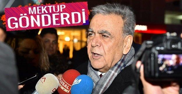 """Aziz Kocaoğlu'ndan CHP yönetimine """"Omuzlarınızda tarihi bir sorumluluk bulunmaktadır"""""""