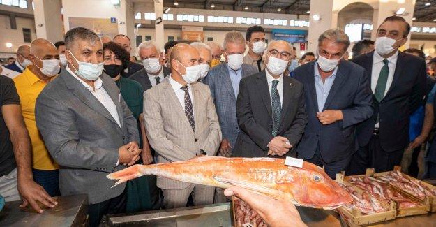 Balık sezonu törenle açıldı