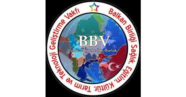Balkan Birliği ve Balkan Birliği Vakfı'ndan destek çağrısı