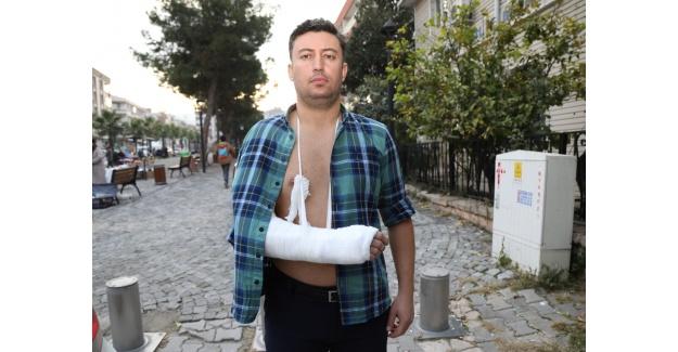 Basın çalışanlarına çirkin saldırı