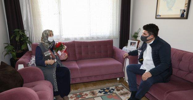Başkan Erhan Kılıç'tan şehit annelerine sürpriz Anneler Gün ziyareti