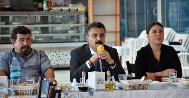 Başkan Kırgöz'den Muhtarlara 500 Gün Raporu