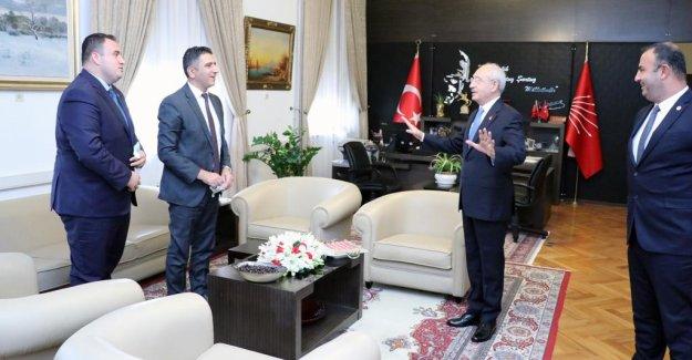 Başkan Mustafa Kayalar Kılıçdaroğlu İle Görüştü