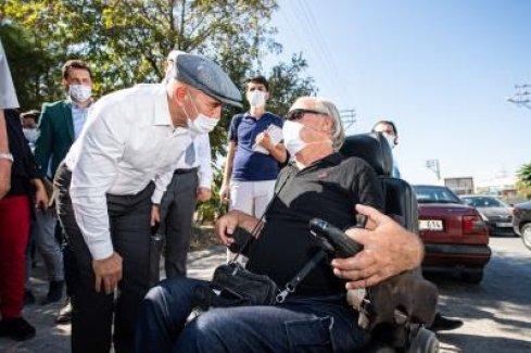 Başkan Soyer Acil Çözüm ekipleriyle Buca'ydı