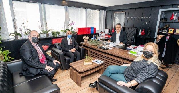 Başkan Soyer'den, İzmir Eczacı Odası'na teşekkür ziyareti