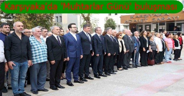 Başkan Tugay ve muhtarlar Karşıyaka için el ele