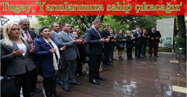 Başkan Tugay, Zübeyde Anne'nin huzuruna çıktı