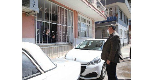 Başkan Tugay'dan Örnekköy turu