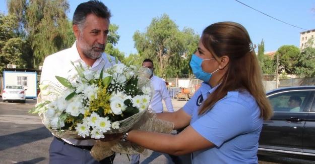 Bayraklı'da Zabıta Haftası kutlandı