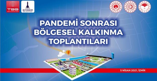 Bölgesel kalkınma toplantısı İzmir'de yapılacak