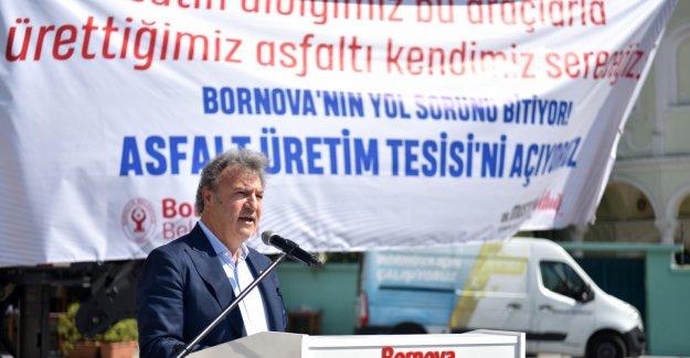 Bornova'da Asfalt Üretim Tesisi için geri sayım başladı