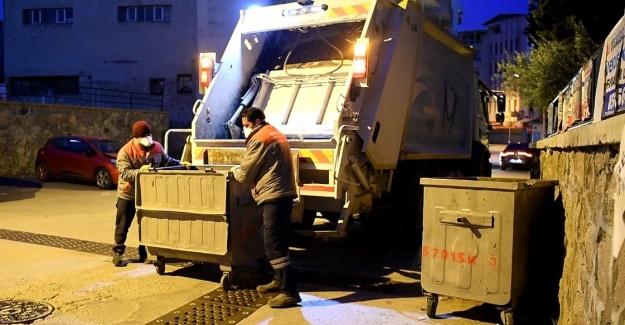 Bornova'da çöpler 7/24 toplanacak