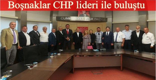 Boşnaklar'dan Kılıçdaroğlu'na tebrik ziyaret