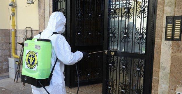 Buca'da 8 bin 247 apartman ilaçlandı