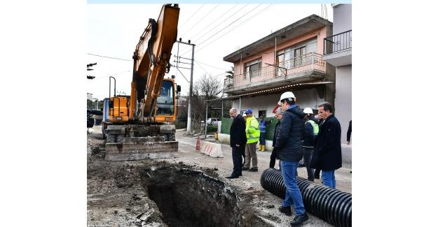 Büyükşehir'in Urla'daki çalışmaları hız kesmiyor