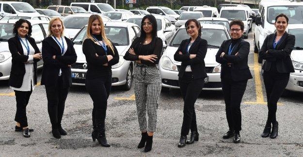 Büyükşehir kadın şoför sayısını arttırıyor