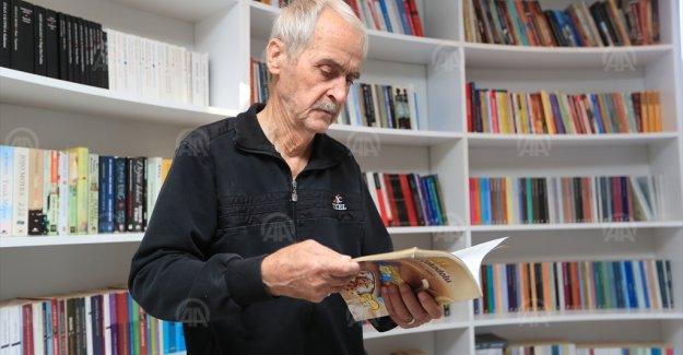 Cevdet Amca , 11 ayda 72 kitap okudu