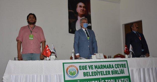 Çevreci belediyeler Edremit'te buluştu