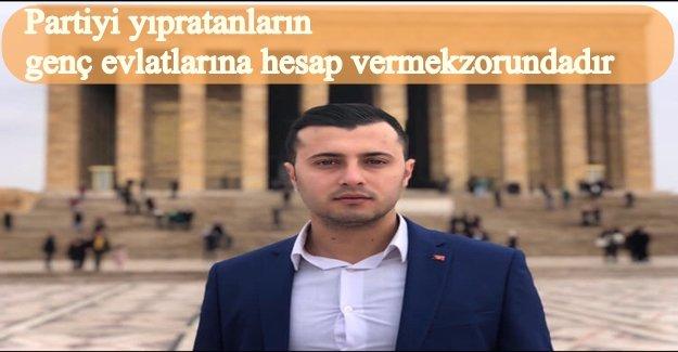 CHP BUCA GENÇLİK KOLLARI HAK-HUKUK-ADALET DEDİ İSTİFA ETTİ