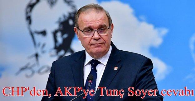 CHP'den Tunç Soyer'e yönelik eleştirilere yanıt