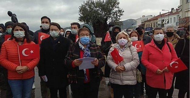 """CHP FOÇA ÖRGÜTÜNDEN ÇAĞRI """"ANDIMIZ OKULLARA GERİ DÖNMELİDİR"""""""