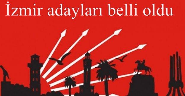 CHP İZMİR ADAYLARI BELLİ OLDU