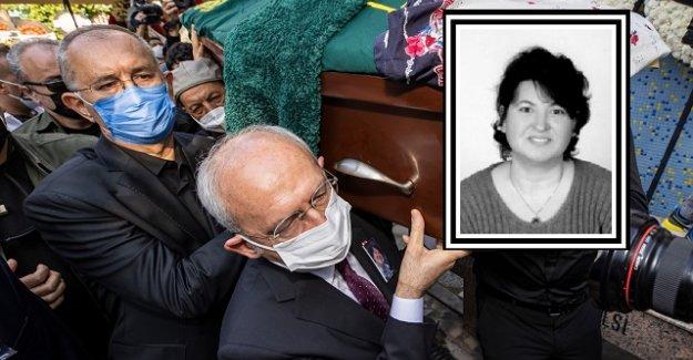 CHP İzmir milletvekili Sertel'in eşi son yolculuğuna uğurlandı