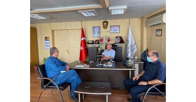 CHP'Lİ SERTEL BAKKALLAR ODASINI ZİYARET ETTİ