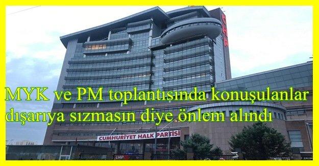 CHP'DE İZMİR ADAYINA JAMMER KALKANI!