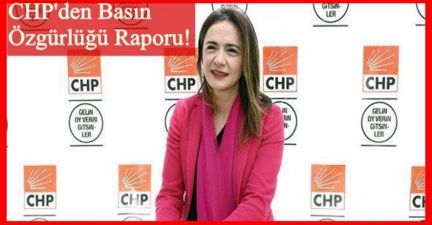CHP'li İlgezdi: Basın Bayramı değil utanç bayramı!