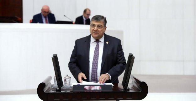 """CHP'li Sındır, """"çocuklarımıza, torunlarımıza, bu bütçenin hesabını veremezsiniz"""""""