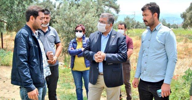 """CHP'li Sındır, """"Gıda Krizi Kapıda, Gelin Üreticimizi Koruyalım. Faizlerini Silelim"""""""