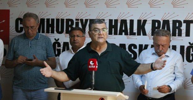 """CHP'li Sındır, """"siyasal iktidar Aliağa halkını da gözden çıkarmış!"""""""