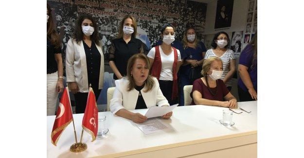 CHP'NİN KADINLARI İZMİR'DEN HAYKIRDI