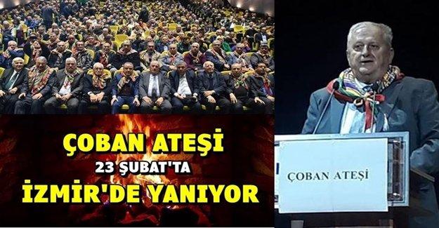 ÇOBAN ATEŞİ İZMİR'DE YANIYOR