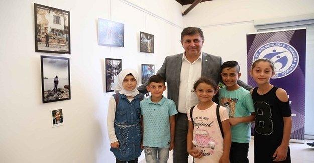 Çocuklardan fotoğraf sergisi