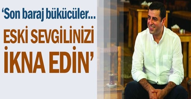 Demirtaş: Barajı geçersek AKP bölünecek