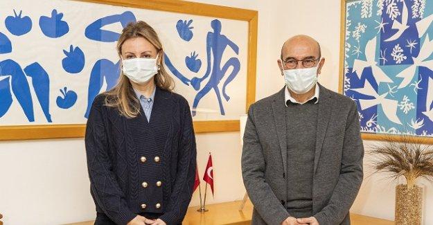 DEVA İzmir İl Yönetimi, Soyer'i ziyaret etti