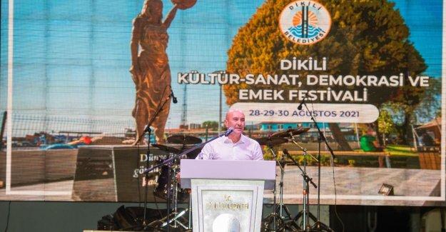 Dikili Kültür – Sanat, Demokrasi ve Emek Festivali başladı