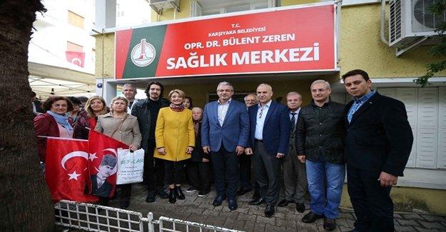 'Dr. Bülent Zeren' Karşıyaka'da ölümsüzleşti