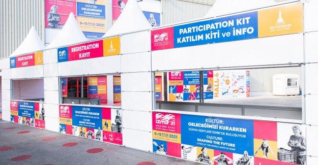 Dünya kentleri İzmir'de buluşuyor