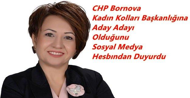 Duygu Bölük CHP Bornova Kadın Kolları Başkanlığına aday