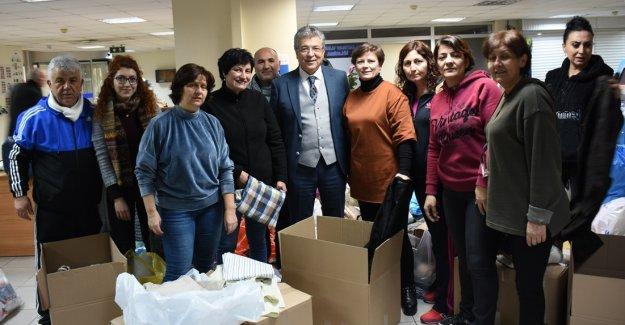 EDREMİT BELEDİYESİ'NDEN ELAZIĞ VE MALATYA'YA YARDIM ELİ