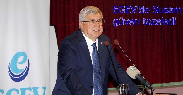 EGEV, Susam ile yola devam dedi