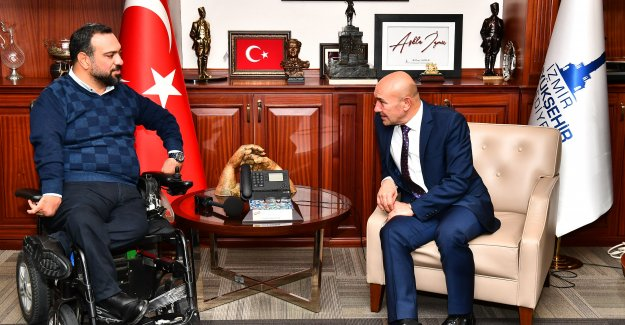 Engelsiz İzmir'de bir ilk