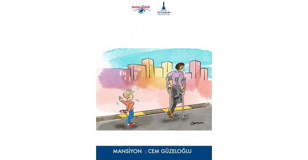 Engelsizmir Ulusal Karikatür Yarışması sonuçlandı